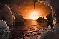 Ein internationales Forscherteam hat in etwa 40 Lichtjahren Entfernung von der Erde sieben erdähnliche Planeten entdeckt - und ist nun davon überzeugt, die bislang vielversprechendste Fährte zu...
