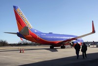 Pilot of Las Vegas-bound Southwest flight arrested after discovery of loaded gun