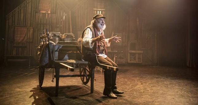 """""""Fiddler on the Roof"""" stars Mehmet Ali Kaptanlar."""