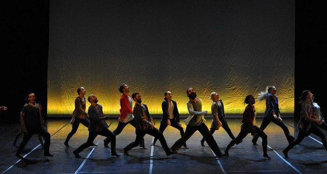 The three works included in Elektronika will be performed by 24 dancers.