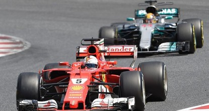 pThe fierce but respectful Formula One title duel between Lewis Hamilton and Sebastian Vettel undergoes a serious test on the narrow and winding roads at the Monte Carlo Grand Prix on...