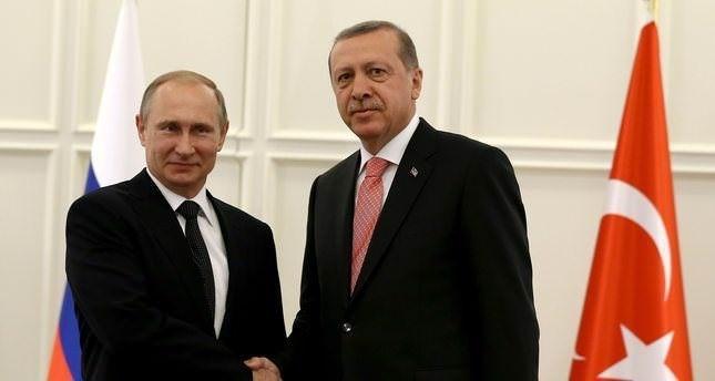 أردوغان وبوتين يبحثان هاتفياً وقف إطلاق النار في حلب