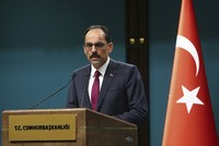 Security established in 70 pct of Syria's Afrin, Kalın says