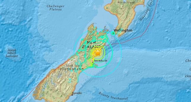 زلزال بقوة 7,4 درجات يضرب نيوزيلاندا.. وتحذيرات من تسونامي قادم