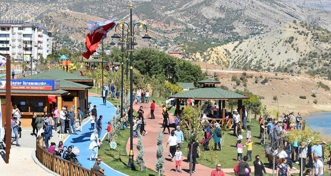 Terror-free Tunceli greets tourists with tranquility of a seaside town