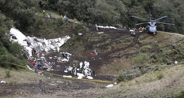 20 صحافياً قتلوا في تحطم الطائرة البرازيلية
