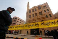 At least 9 killed after gunman attacks church near Egypt's Cairo