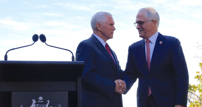 Pence says US wll honor 'dumb' refugee deal with Australia