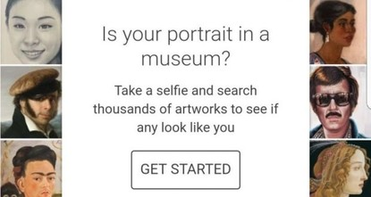 pA new app from Google is attempting to accurately match your face to one in a famous painting.br /