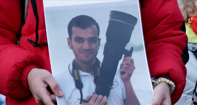 The slain photographer and cameraman Yaser Murtaja