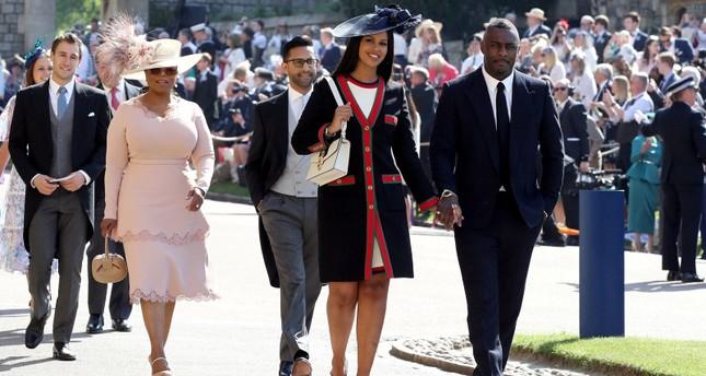 Royal Wedding 2018 Guests.Oprah Idris The Beckhams Big Name Guests Arrive For British Royal
