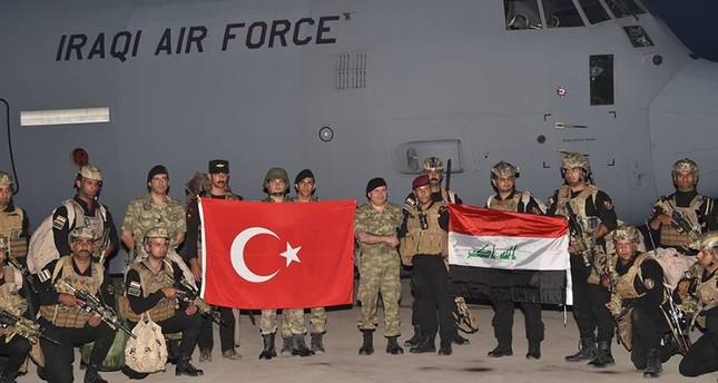 Turkey, Iraq hold joint drills at the border