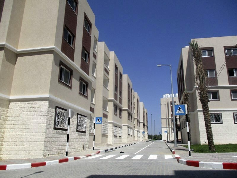 Housing project developed by TIKA after Israeli airstrikes destroyed homes in the blockaded Gaza Strip (AA File Photo)