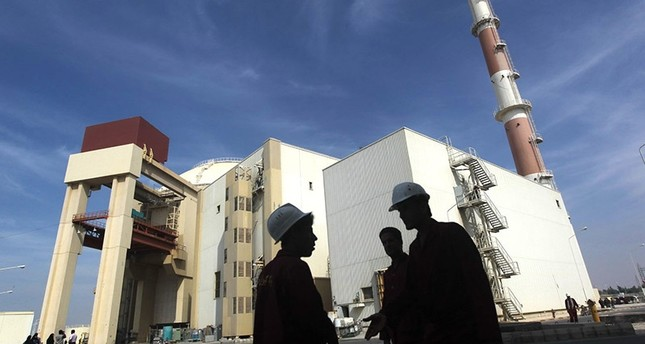 A picture dated October 26, 2010 shows the reactor building at the Russian-built Bushehr nuclear power plant in southern Iran, 1200 Kms south of Tehran. (AFP Photo)