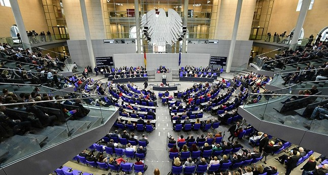 German MP´s debate prior to a vote on same-sex marriage in Bundestag, Germany´s lower house of Parliament in Berlin on June 30, 2017 (AFP Photo)