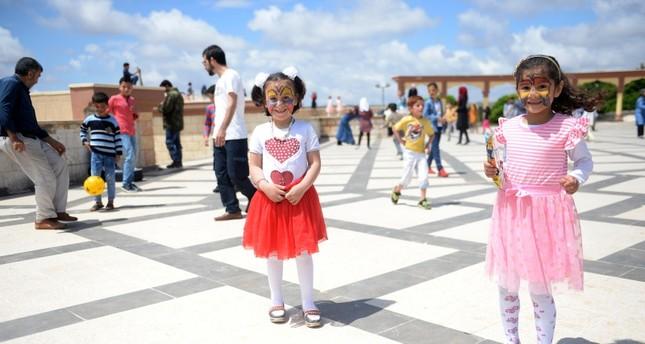 أطفال عرب في تركيا (الأناضول)