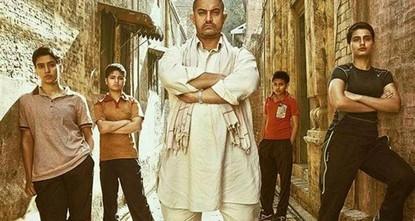 """pDer neue Wrestling-Film """"Dangal von Bollywood-Star Aamir Khan ist laut Angaben der erste indische Film welcher 20 Milliarden Rupien (309.9 Millionen US-Dollar) einbrachte, nachdem er in den..."""