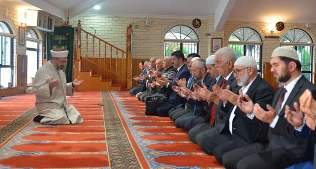 أرباش يواصل زياراته مصابي وأسر ضحايا مجزرة نيوزيلندا