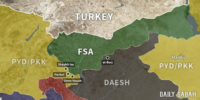 Operation Euphrates Shield update: Day 61, FSA launches operation on PYD-held villages south of Marea