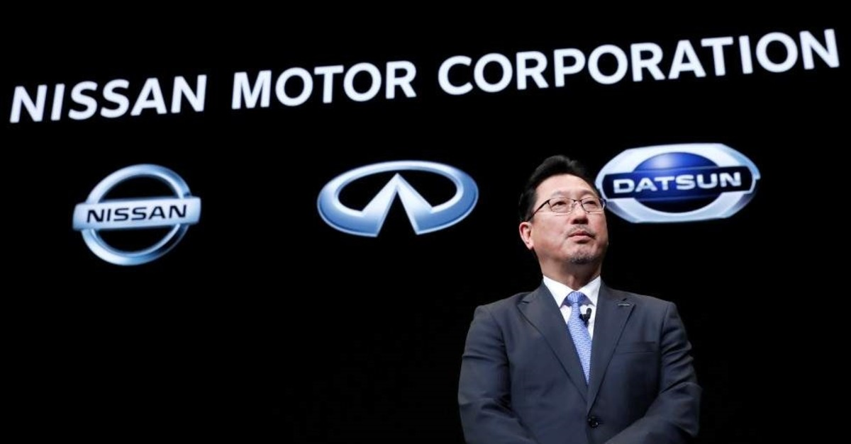 Nissan Motor's executive officer vice-COO Jun Seki attends a news conference at Nissan Motor's headquarters in Yokohama, Japan, Dec. 2, 2019. (Reuters Photo)
