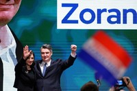 Opposition Socialist Democrats' candidate Milanovic leads in Croat presidential race