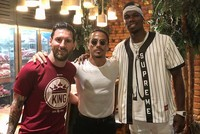 Messi, Pogba meet at Salt Bae's restaurant in Dubai, enjoy Turkish tea
