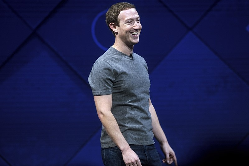 In this April 18, 2017, file photo, Facebook CEO Mark Zuckerberg speaks at his company's annual F8 developer conference in San Jose, Calif. (AP Photo)
