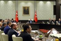 اجتماع مجلس الأمن القومي برئاسة أردوغان