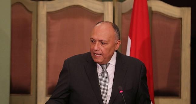 وزير الخارجية المصري سامح شكري (رويترز)