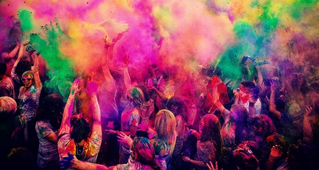 Traditional Indian festival Holifest will come to Istanbul this weekend and to Ankara next week.