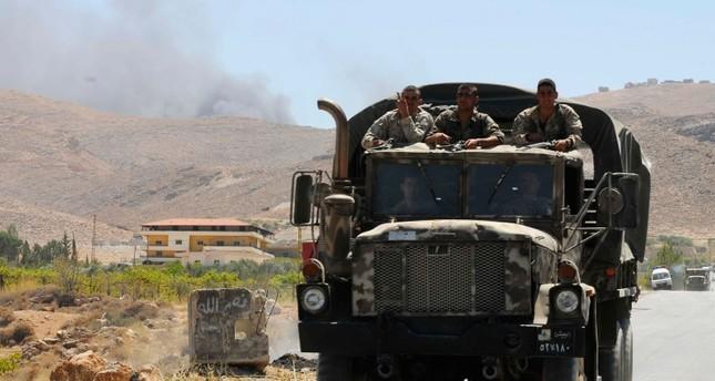 جنود لبنانيون في منطقة عرسال الحدودية مع سوريا (من الأرشيف)