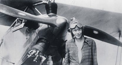 pBorn in Kansas in 1928, Amelia Earhart is known as the first female pilot who crossed the Atlantic Ocean./p