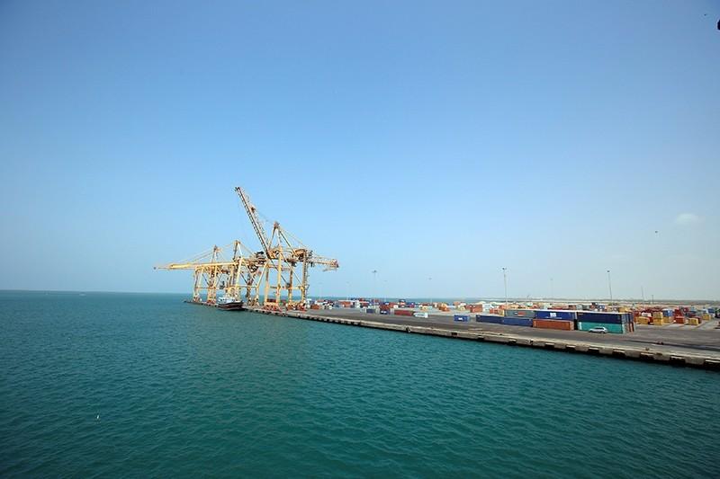 A view of the Red Sea port of Hodeida, Yemen Nov. 7, 2017. (Reuters Photo)