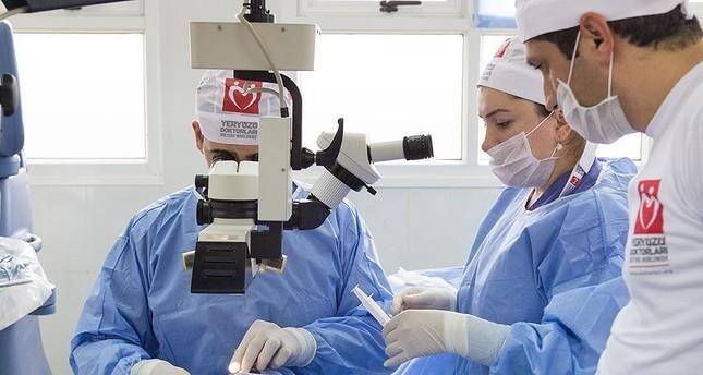 Turkey's volunteer doctor group performs 5,441 cataract surgeries