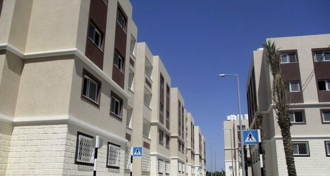 Housing project developed by TIKA after Israeli airstrikes destroyed homes in the blockaded Gaza Strip AA File Photo