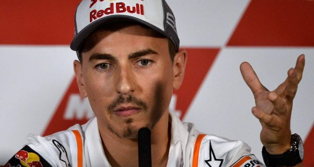 Lorenzo holds a press conference announcing his retirement in Cheste near Valencia, Nov. 14, 2019. AFP Photo