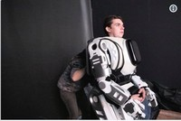 'Robot shown on Russian TV was man in costume'