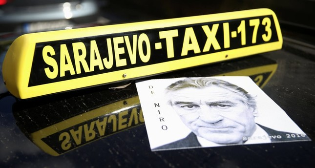 Want a drive with De Niro? Hail a Sarajevo taxi