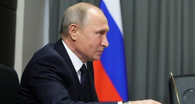 Russian President Vladimir Putin attends a meeting with Nizhny Novgorod region acting governor in Nizhny Novgorod, Russia, 06 December 2017. (EPA Photo)