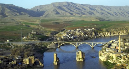 The ancient tomb of Zeynel Bey, a 650-year-old piece of history lying near the Ilısu Lake in the Hasankeyf district of Batman province in southeastern Turkey, is being relocated due to the threat...
