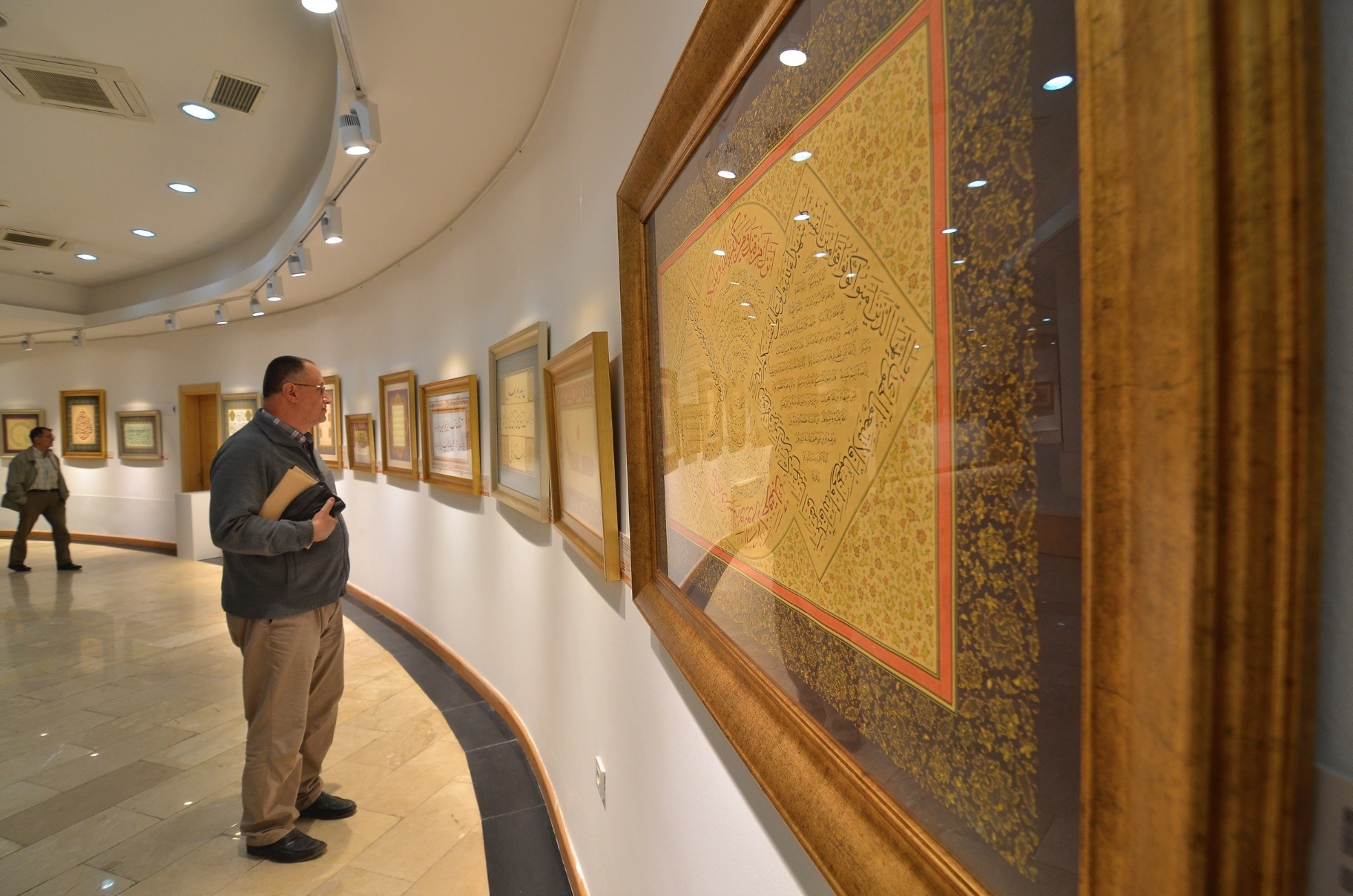 u201cThe Penu2019s Bountyu201d calligraphy and illumination exhibition will host visitors until June 15.