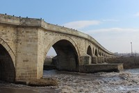 Turkish town applies to register historical stone bridge in Guinness World Records
