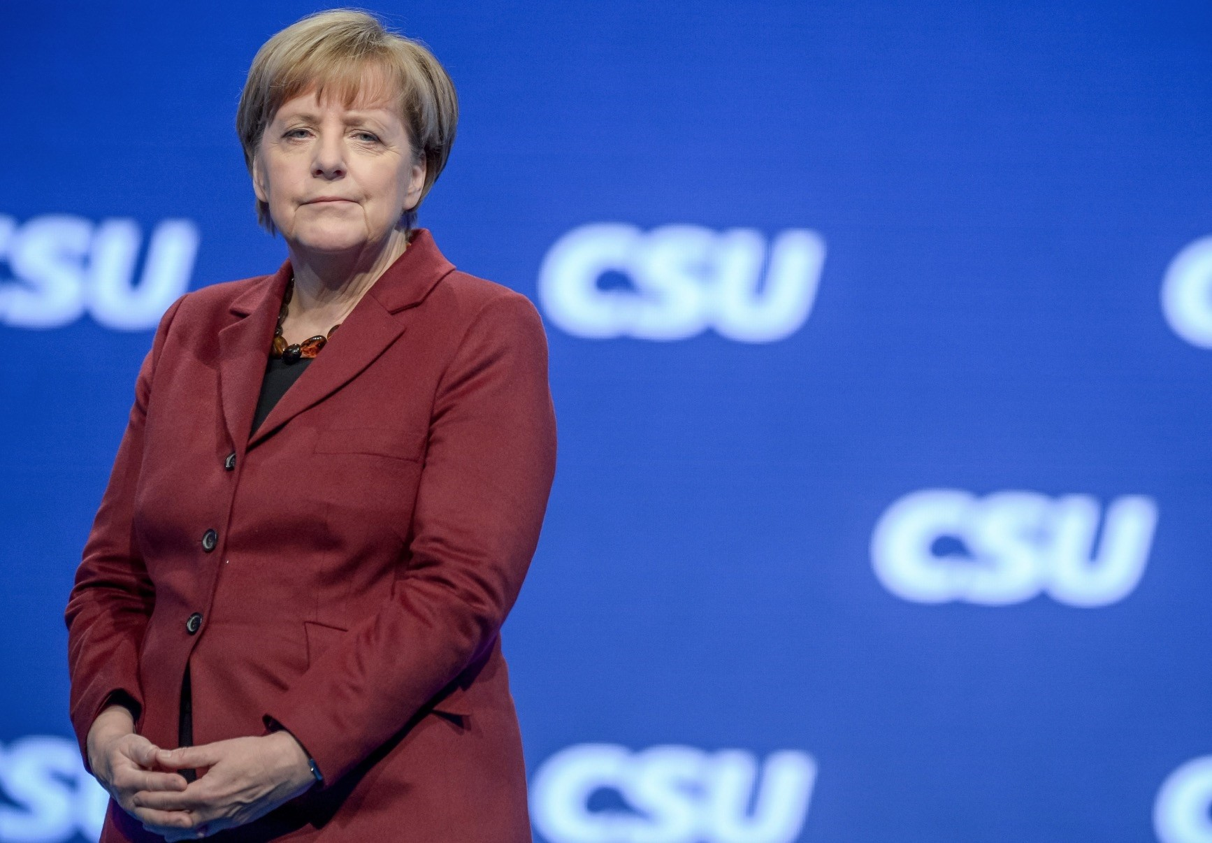 German Chancellor Angela Merkelu2019s fourth government has come close to collapsing several times, in arguments over immigration.