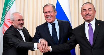 Turkey, Russia, Iran FMs to meet in New York