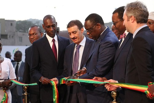 Senegal opens first stage of express railway line built by Turkish contractor