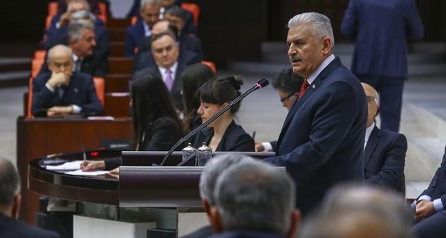 يلدريم يكشف موعد تطبيق النظام الرئاسي في تركيا