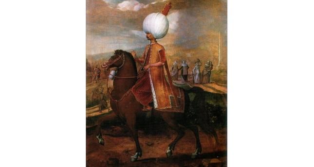 Young Süleyman by Flemish painter Hans Eworth.