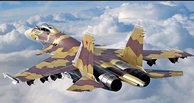 الجيش الروسي يتسلم 10 مقاتلاتSU-35و49 صاروخ كاليبر