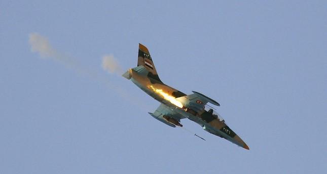 داعش يقول إنه أسقط طائرة حربية للنظام السوري فوق دير الزور