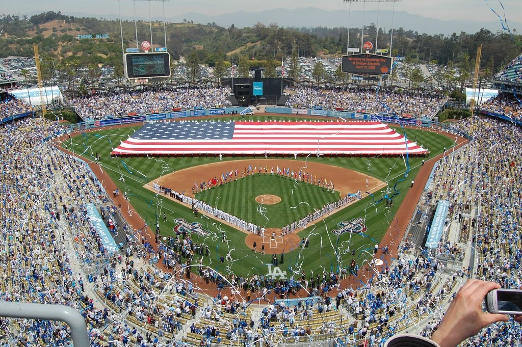 Dodger Stadium, Los Angeles, CA